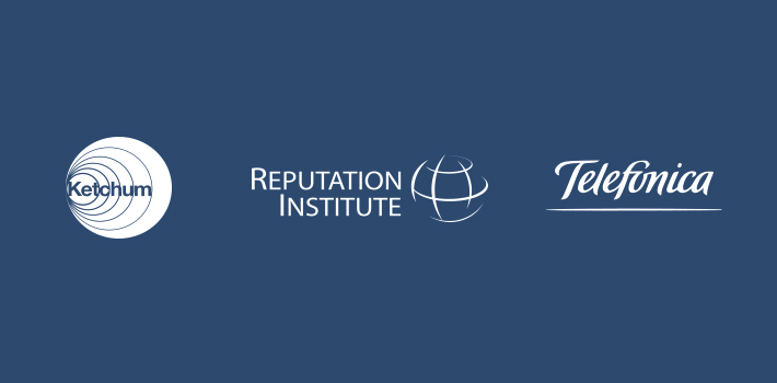 Ketchum, Reputation Institute, Telefonica