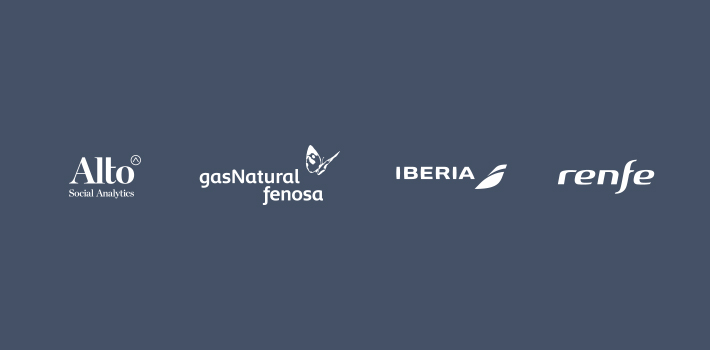 Alto Social Analytics- Gas Natural Fenosa - Iberia- Renfe